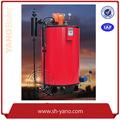 35-1000kg/vertical de recursos humanos de gas/aceite de caldera de vapor