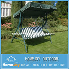 Durable 3 seat garden swings for adults