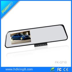 Car Aftermarket 4.3' Dashcam Gps Rear View Mirror Reversing Camera For Car