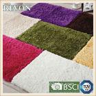 Modern machine washable shaggy carpet bath floor area rug