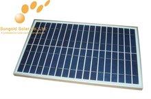 35W 18V Small Power Polycrystalline Solar Panel Module