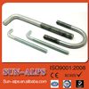 China supply all kinds of type Good quality bolt carbon steel Class 8.8/10.9 zinc plated U bolt