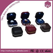 luxury led ring box&led jewelry box