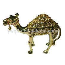 2014 New Product Hot Selling Fashionable Rhinestone Decoration Camel Craft(QF2383)