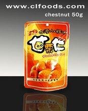 cinese organico dolce castagne arrosto sbucciate per la vendita al dettaglio