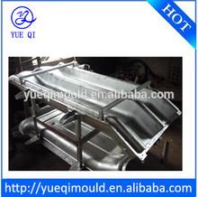 Custom Aluminum Rotomoulding Two Channels Slide Mold