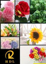 decorative artificial sunflowers