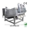 tornillo de la prensa de filtro para la industria de tratamiento de aguas residuales