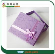 Lavender pupple jewerly gift box for pendant