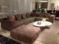 Five star hotel design catalogue u shape sectional sofa
