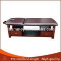 eccellente valore di vendita calda massaggio completo del corpo ultra leggero lettino da massaggio in legno