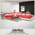 Modernen luxus leder sofa, Luxus echt ledercouchgarnitur