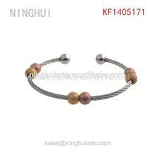 bracelet leather sapphire yellow Wholesale
