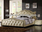 French Style Luxury Hotel Wood Bed