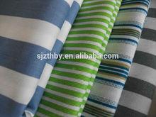 wholesale twill 100% cotton stripe fabric black and white