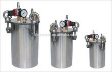 Stainless steel air pressure tank for glue dispensing