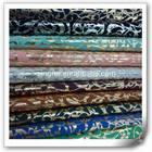 fashionable pu coated fabric for lady shoe and bag