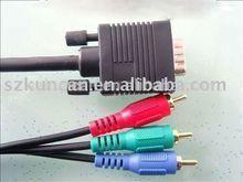 4K 10.2gbps TV HDTV adapter rca composite video to vga converter