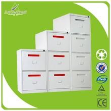 Fashionable cheap mobile pedestal steel drawer vertical filing cabinet
