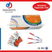 Diagnos Best-selling Drug Of Abuse Test for (MOP/OPI/MOR) Morphine/Opiate Test