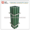 PP plastic coated plywood concrete column shuttering formwork system reusable 50 times at least