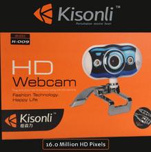Night Vision Webcam Laptop, usb Digital Web Camera Mic led Light