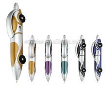 plastic ballpoint pen, promotional car pen MDS-P6169
