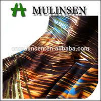 Mulinsen Textile Muti Design Stripe Pattern Printed FDY Pacific Islander Printed Fabric