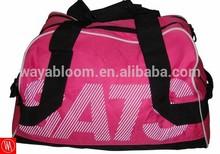 cheap fashion expandable custom duffle bag for girls