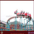 Fiber glass roller coaster wheels roller coaster sliding dragon for sale