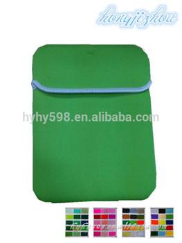 #14051405 fancy green neoprene case for Ipad bag