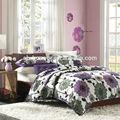 100% algodão bordado à mão pintura em tecido desenhos hotel folha de cama