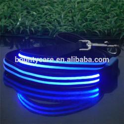 custom LED electric dog leash