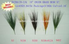 2012 Artifical onion grass fake grass bush for home decoration