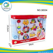 2014 neue produkte baby geschenk spielzeug Rasseln set 10 stück
