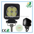 12W Epsitar CAR LED Work Light Lamp for Truck Trailer Motorcycle SUV ATV Off Road Car Motor 12v 24v