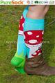 china mühle neuen 2014 herbst winter eigenes design polyester sexy mädchen kniestrümpfe Junge