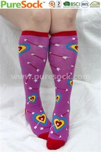 China Factory New 2014 Fall Winter Wholesale nylon girls microfiber warm knee highs Mens