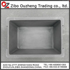 graphite carbon crucible used as jewelry casting mould