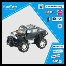 Hot popular kids power black wheel friction car toys