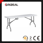 ORIZEAL 6-FOOT PLASTIC FOLDING TABLE OZ-T2004