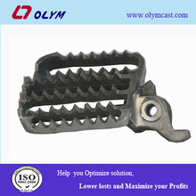 China stainless steel investment casting bicycle pedal spare parts with OEM service