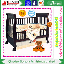 lovely baby 3-IN-1 wooden sleigh cot/adjustable baby cot
