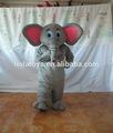 Hola lindo elefante animal traje para adultos