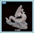 jardin décoratif sculpté en pierre naturelle sculpture dragon pour la vente
