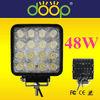 Cheap Epistar outdoor led working light, IP67 12 volt led work lamp led truck work lights 48W TRAILER LIGHT