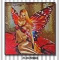 Lj288 jy-jh-pdm03 Schlafzimmer wand hängen glasmalerei backsplash fliesen lowes glasmosaikfliese bild indian nude, kunst, malerei