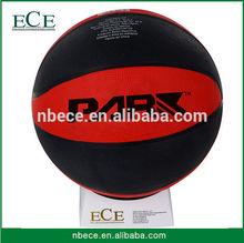 promotion bulk packing cheap rubber custom basketballs