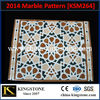 Manfacturer viet nam nature multi color marble for sale