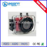 surveillance digital 720P outdoor HD sports video camera cctv camera hidden mini camera BS-HD03A